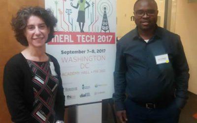 Well Attended Gender-Based Violence Information System Design Presentation at MERL Tech